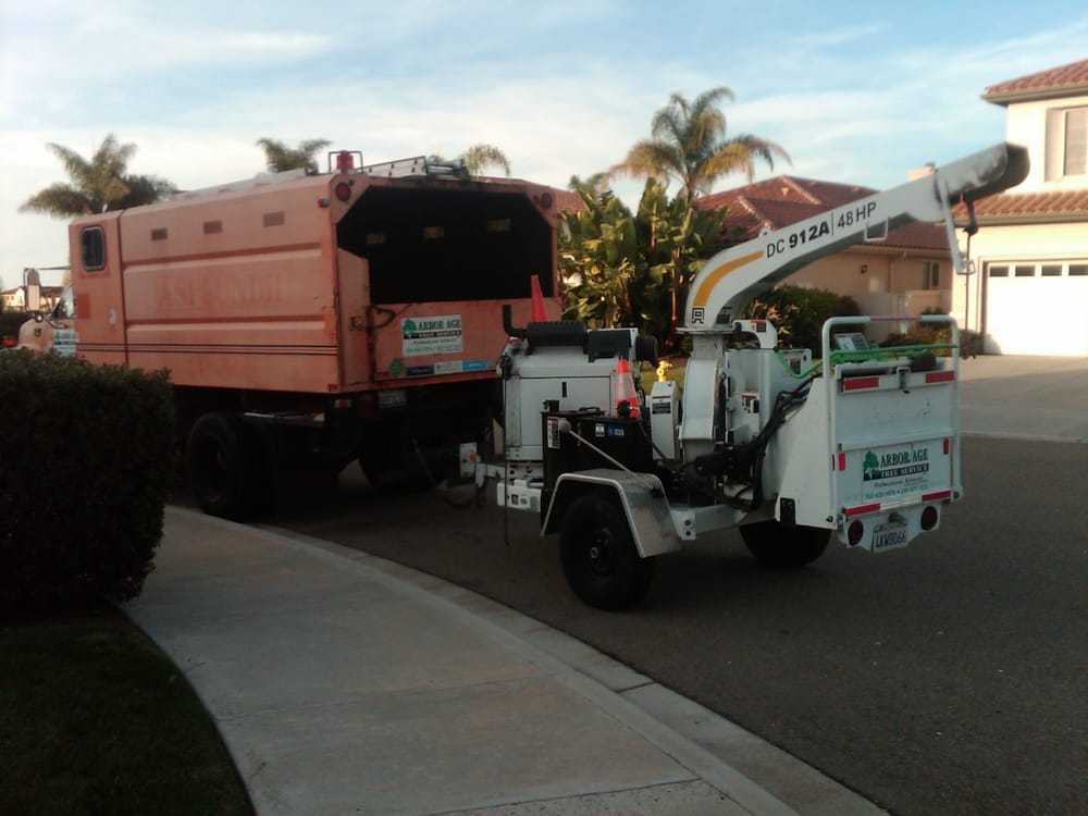 Arbor Age Tree Service Truck And Chipper