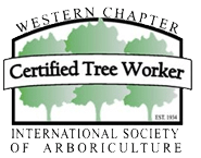 Member of the International Society of Arborculture Western Chapter Certified Tree Worker